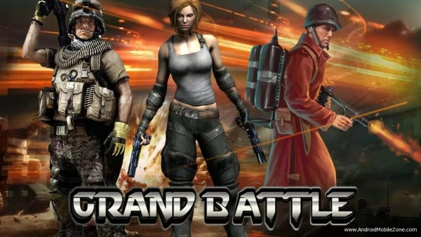 Grand Battle–MMO Strategy:War v6.4.3 Apk for Android
