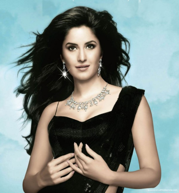 Katrina Kaif in Black Dress