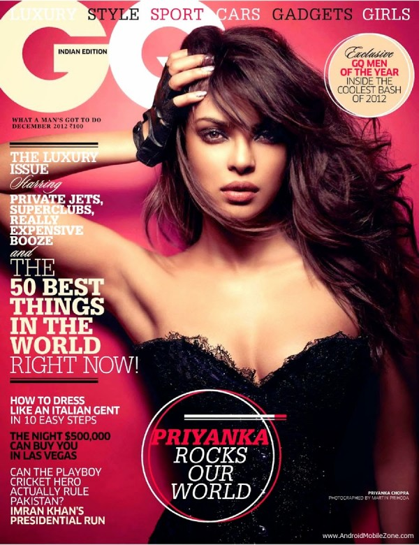 Priyanka Chopra on GQ India Cover wallpaper
