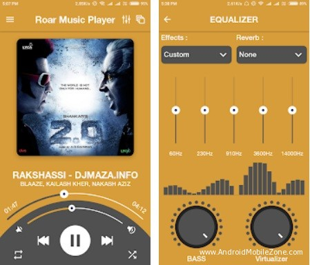 Roar Music Player for Android Mobile APK 2.1