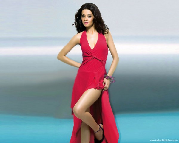 Surveen Chawla in Red Dress