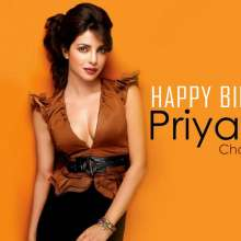 Priyanka Chopra Happy Birthday