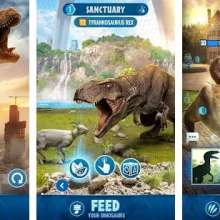 Jurassic World Alive MOD APK Free on Android 2.5.23