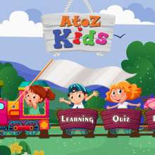 Nursery, LKG, UKG, Pre Primary - AtoZ Kids Preschool Learning App