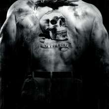 Expendables Sylvester Stallone Back Tattoo Pose Wallpaper