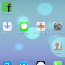 iOS7 Go Launcher Theme for Android